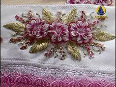 Sabor de Vida Artesanatos | Flores Bordadas com Passamanaria - 09 de Abril de 2013 - YouTube