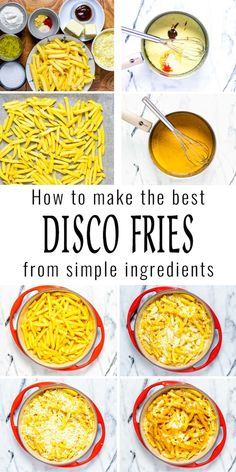 These Disco Fries are made with the best vegetarian gravy. Is is cheesy, hearty, and absolutely delicious comfort food. A keeper that the whole family, even pickiest eaters will enjoy. #vegan #dairyfree #vegetarian #discofries #dinner #lunch #gravy #contentednesscooking