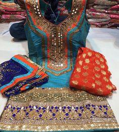 whatsapp punjabi suit - punjabi suits - suits- chooridar suit - Patiala Suit - patiala salwar suits Haute spot for Indian Outfits. Patiala Salwar Suits, Punjabi Suits, Indian Suits, Indian Attire, Punjabi Fashion, Indian Fashion, Women's Fashion, Indian Party Wear, Indian Wear