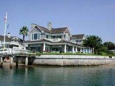 The Shore House on the Water