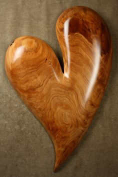 I love you more best gift ever heart wood by TreeWizWoodCarvings