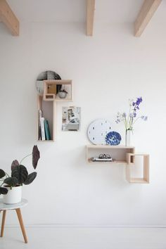 'Daily Gems' wall shelving