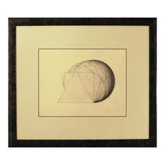 """@AJSmithArt http://smithon.ca/shop #MustSee #SMITHONDay #SMITHONDay2015 #IGArtists #ART #Canada #Artwork #GeometricArt   Drawing of """"All Polygons of the Same Cicumference and a Common Apex"""" late 1960s in #Toronto in the #CoachHousePress days - Andrew James Smith"""