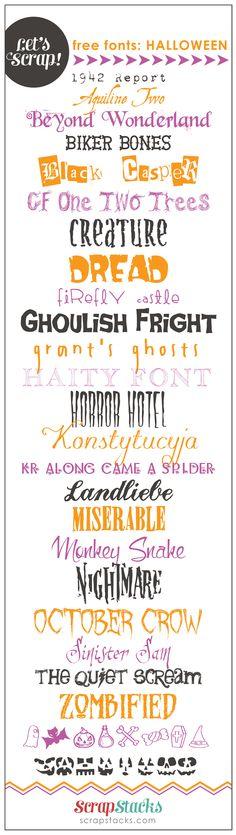 free halloween fonts 25 free fonts w easy download - Good Halloween Font