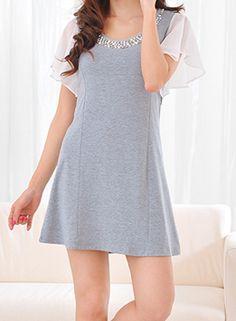 harmaa mekko | Naisten vaatteet netistä - Vaatekauppa Heidi Elise - Vaatteet, juhlamekot, mekot, takit, paidat, neuleet