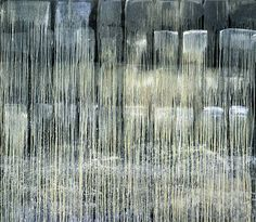 pat steir WATERFALL paintings - Google Search