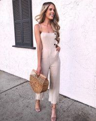 Another day, another outfit 7 looks for your whole week!, Summer Outfits, Another day, another outfit 7 looks for your whole week! Classy Outfits, Trendy Outfits, Cute Outfits, Fashion Outfits, Fashion Trends, Jumpsuit Outfit, Casual Jumpsuit, Summer Jumpsuit, Backless Jumpsuit