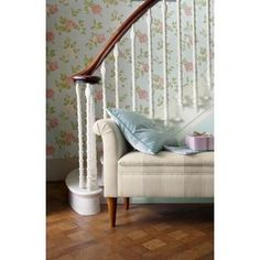 Laura Ashley - Munro - Duck Egg - Wallpaper from Homebase.co.uk