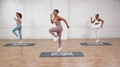 Victoria Sport ambassador Lita Lewis has a quick and effective lower-body burn for you with a lot of cardio in the mix, too! No equipment is Plyometric Workout, Plyometrics, Workout Log, Dance Workout Videos, Workout Classes, Exercise Videos, Victoria Secret Workout, Victoria Sport, Body Fitness
