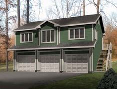Traditional Garage Plan 49118 Elevation