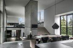 Style and Create — An extraordinary house in concrete & wood, beyond gorgeuos! | Photo by Jesper Ray via Norwegian Bo Bedre