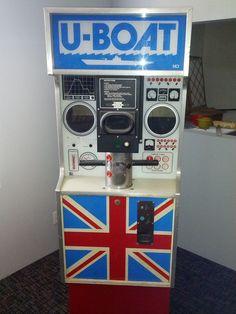 MCI U-Boat Electromechanical Arcade Game 1975 picclick.com