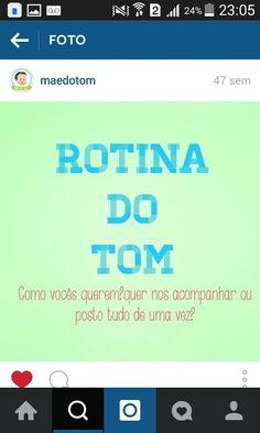 Rotina Tom 1