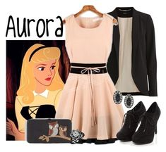 """""""Aurora"""" by alyssa-eatinger ❤ liked on Polyvore featuring VILA and Lulu Frost"""