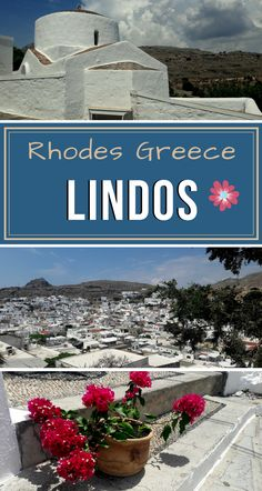 Did you know that the first #whitetown of #Greece actually emerged on #Rhodes island? Read more!   #GreekIslands #Summer #Lindos