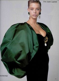1988 - Yves Saint Laurent Couture evening ensemble by giampaolo vimercati