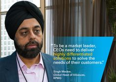 How can #CEOs become market leaders? #CEOoutlook