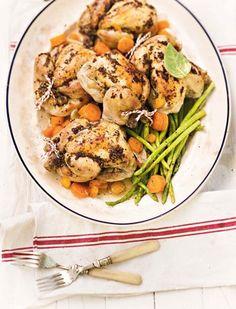 Korrelmosterd-babahoenders   Mustard chicken #delicious #meal
