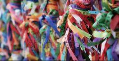 Brazilian wishing ribbons