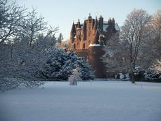 Glamis Castle. Been there. It rocks