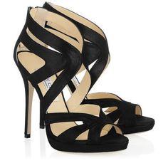 SPLURGE  strappy heel: Jimmy Choo Collar