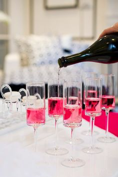Party Idea of the Month: Fun Pink and White Holiday Cocktail Party Part 2 | Blog | HGTV Canada