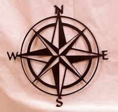 Image result for compass rose outdoor wall art
