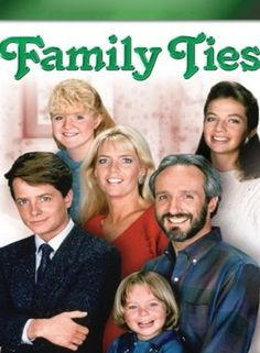 Family Ties 80's sitcom. Great show.... Also the Back to the Future thing Michael J Fox was in his hey day...HIs battle with Parkinson's has been hard to watch He was/is much loved