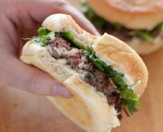 In the debate over salting or not salting burgers before frying them, Jules Clancy is definitely rooting for the pro-salters.