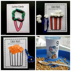 Carnival Activities, Motor Activities, Carnival Themes, Toddler Activities, Preschool Boards, Preschool Activities, Circus Theme Crafts, Preschool Circus Theme, Vintage Circus Party