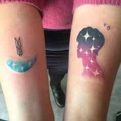 Kpop Tattoos, Army Tattoos, Korean Tattoos, Tatoos, Little Tattoos, Mini Tattoos, Body Art Tattoos, Small Tattoos, Piercing Tattoo