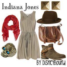 Indiana Jones  by Disneybound
