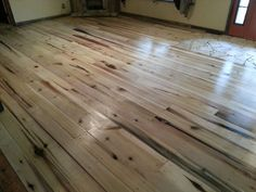 New floor, poplar