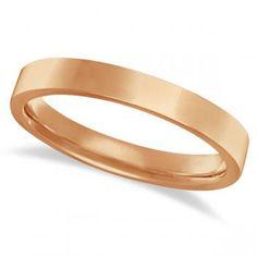Argollas de Matrimonio Tradicionales de Oro Amarillo
