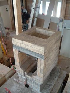 Good step by step pics for masonry heater