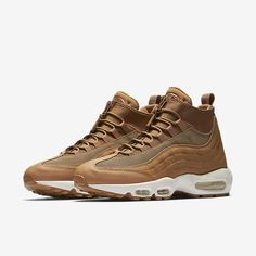 Nike 95 SneakerBoot Men's Boot Size 7 (Gold) - Clearance Sale