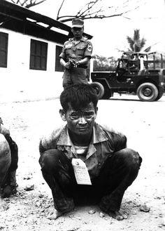 Vietnam War, Viet Cong, Heavily Framed Print by Everett North Vietnam, Vietnam War, American War, American History, House Of Pain, Political Pictures, My War, War Image, Cold War