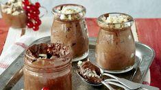 Helppo suklaamousse Chocolate Fondue, Peanut Butter, Gluten Free, Pudding, Sweets, Desserts, Food, Glutenfree, Tailgate Desserts