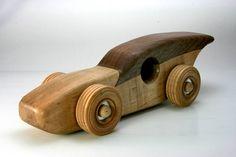 Coches de juguete de madera hecho a mano único herencia
