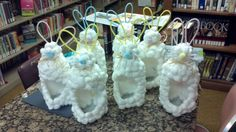 Milk jug bunnies