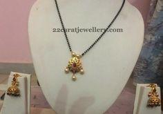 Pretty Black Beads Set 3000 Only | Jewellery Designs