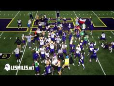 The Harlem Shake with Coach Les Miles and the LSU Football Team. Don't like LSU but love this video