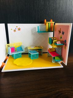 This amazing Roominate design was created by Soleil! Shelves, Make It Yourself, Create, Toys, Amazing, How To Make, Design, Home Decor, Activity Toys