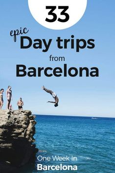 Do you want to get out of the city? There are so many opportunities and options for day trips from Barcelona. We at One Week In dedicated this full article only to cool day trips you can take from Barcelona. Find our 33 epic day trips from Barcelona at Barcelona Day Trips, Barcelona Tours, Barcelona Spain Travel, Madrid, Menorca, Malaga, Europe Travel Guide, Travel Guides, Spain And Portugal