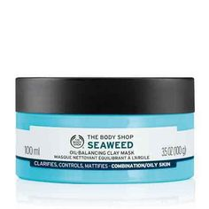 Seaweed Oil Balancing Clay Mask The Body Shop