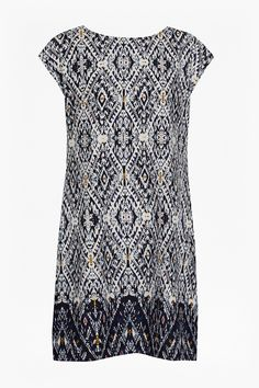 Diamond Daze Printed Shift Dress | Bestsellers | Great Plains