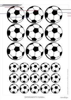 Free printable soccer printables for the soccer party fußball_fussball_kostenlos_ausdrucken_bastelnn_printable Soccer Birthday Parties, Football Birthday, Soccer Party, Soccer Ball, Hawaiian Party Invitation, Fun Wedding Invitations, Birthday Invitations, Party Printables, Free Printables
