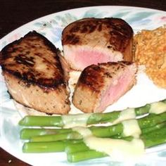 Marinated Tuna Steak....tried this recipe last night and pan-fried the steaks.....DELISH!