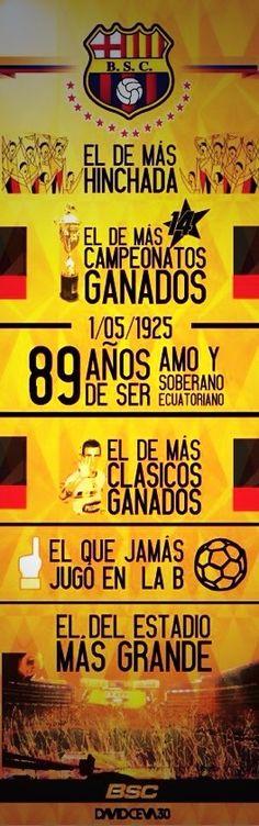 Razones básicas por las cuales #bsc es el más grande de #ecuador