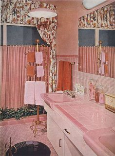 Save The Pink Bathrooms on pretty bathrooms, black and white bathrooms, spacious bathrooms, vintage 1950s bathrooms, retro bathrooms, beautiful bathrooms, 1960s bathrooms, save my pink bathroom, fifties bathrooms, real 1950s bathrooms, gorgeous bathrooms, striped wallpaper for bathrooms, bathroom remodeling ideas for small bathrooms, save the green bathrooms,